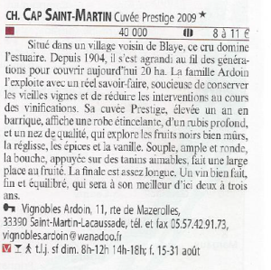Guide Hachette CSM 2009